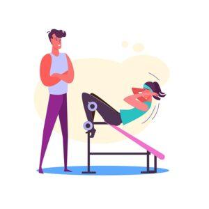 Sporto klubų, baseinų, pirčių, sveikatingumo paslaugas teikiantiems darbuotojams