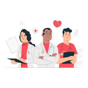 Sveikatos priežiūros įstaigų darbuotojams