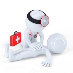 Įmonių, įstaigų ir organizacijų darbuotojams, atsakingiems už pirmosios pagalbos suteikimą